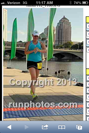 Scioto 10 miler, getting back into shape postpartum