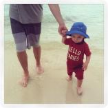 More beach walking