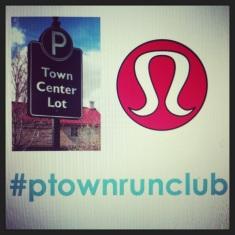 town run club Thursdays @6:30PM