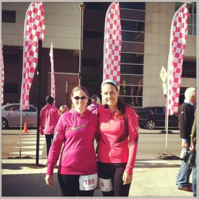 Deedra & Teresa, Girls on the Run 5K, Fall 2013