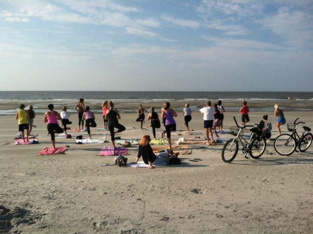 Fitness + Travel Blog Hilton Head - 13 yoga