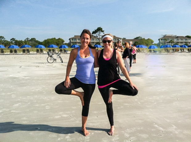 Fitness + Travel Blog Hilton Head - 14 yoga