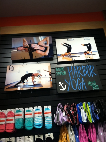 lululemon + Harbor Yoga