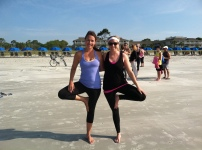 Living Fit on the beach