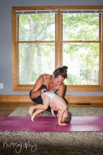 Baby yoga-8