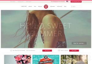 lululemon-athletica-website