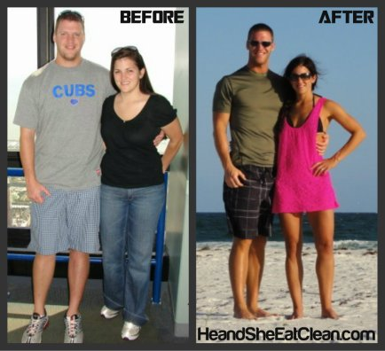 Eat Clean Transformation-Weight Loss-Clean Eating-He and She Eat Clean-Fitness-Exercise