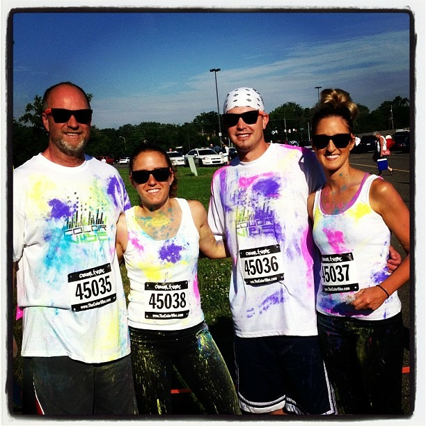Aspring Color run Pic