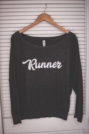 Women's boatneck sweatshirt