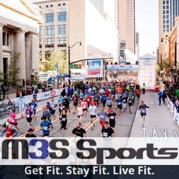 M3S Sports events Cap City Half Marathon
